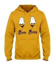 Boo Bees Halloween Hooded Sweatshirt thumbnail
