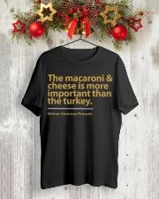 Macaroni Classic T-Shirt lifestyle-holiday-crewneck-front-2