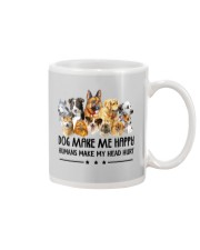Dog Make Me Happy Mug thumbnail