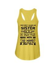 Funny Family - Sister Ladies Flowy Tank thumbnail