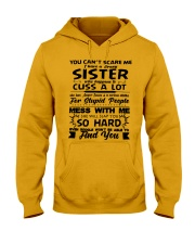 Funny Family - Sister Hooded Sweatshirt thumbnail