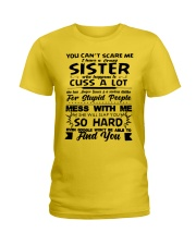 Funny Family - Sister Ladies T-Shirt front