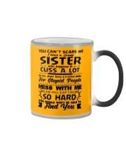Funny Family - Sister Color Changing Mug thumbnail