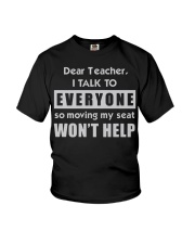 Dear Teacher Youth T-Shirt front
