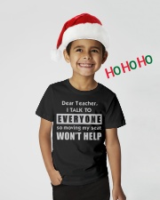 Dear Teacher Youth T-Shirt lifestyle-holiday-youth-front-1