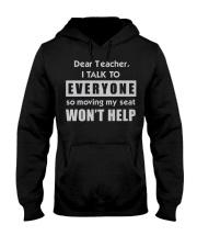 Dear Teacher Hooded Sweatshirt thumbnail