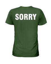 Sorry - Men's Humor Ladies T-Shirt thumbnail