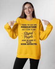Medication Crewneck Sweatshirt apparel-crewneck-sweatshirt-lifestyle-front-11