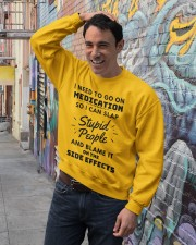 Medication Crewneck Sweatshirt lifestyle-unisex-sweatshirt-front-4