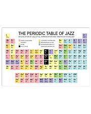 THE PERIODIC TABLE OF JAZZ 17x11 Poster front