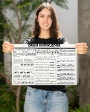 DRUM KNOWLEDGE 17x11 Poster poster-landscape-17x11-lifestyle-19