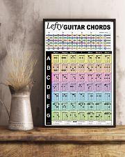 Lefty Guitar Chords 11x17 Poster lifestyle-poster-3