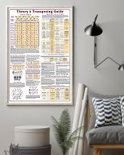 MUSIC THEORY CHEAT POSTER 11x17 Poster lifestyle-poster-1