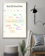 Vocal EQ Cheat Sheet 11x17 Poster lifestyle-poster-1