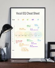 Vocal EQ Cheat Sheet 11x17 Poster lifestyle-poster-2