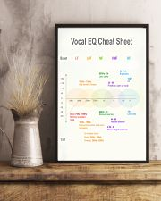 Vocal EQ Cheat Sheet 11x17 Poster lifestyle-poster-3