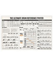 DRUMS 24x16 Poster front
