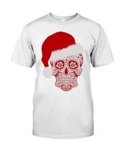 Sugar Skull Xmas tee Classic T-Shirt thumbnail