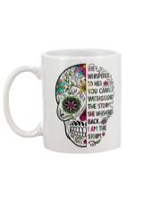 I am the storm - sugar skull cup Mug back