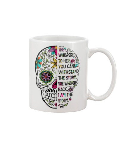 I am the storm - sugar skull cup