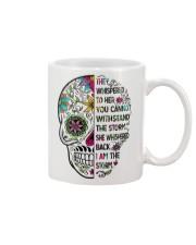 I am the storm - sugar skull cup Mug front