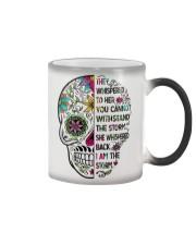 I am the storm - sugar skull cup Color Changing Mug thumbnail