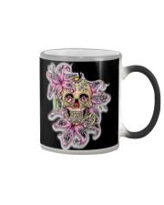 Sugar skull hubby and wifey mugs Color Changing Mug thumbnail