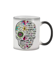 There's a fire in here Color Changing Mug thumbnail