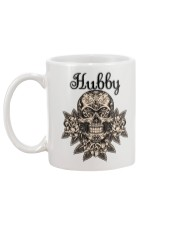 Sugar skull hubby and wifey mugs Mug back
