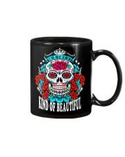 Sugar skull mug Mug front