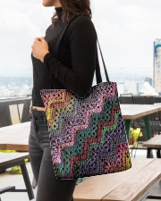 Yarn Tote Bag 3 All-over Tote aos-all-over-tote-lifestyle-front-04
