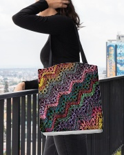 Yarn Tote Bag 3 All-over Tote aos-all-over-tote-lifestyle-front-05