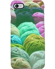 Colorful Yarns Pile Phone Case i-phone-8-case