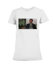 Michael Scott T-Shirt Premium Fit Ladies Tee thumbnail