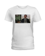 Michael Scott T-Shirt Ladies T-Shirt tile