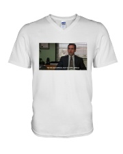 Michael Scott T-Shirt V-Neck T-Shirt thumbnail
