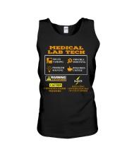MEDICAL LAB TECH Unisex Tank thumbnail