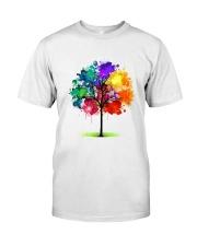 Tree Rainbow Classic T-Shirt thumbnail