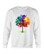 Tree Rainbow Crewneck Sweatshirt thumbnail