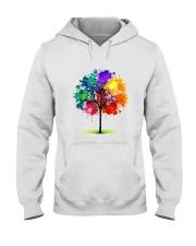 Tree Rainbow Hooded Sweatshirt thumbnail