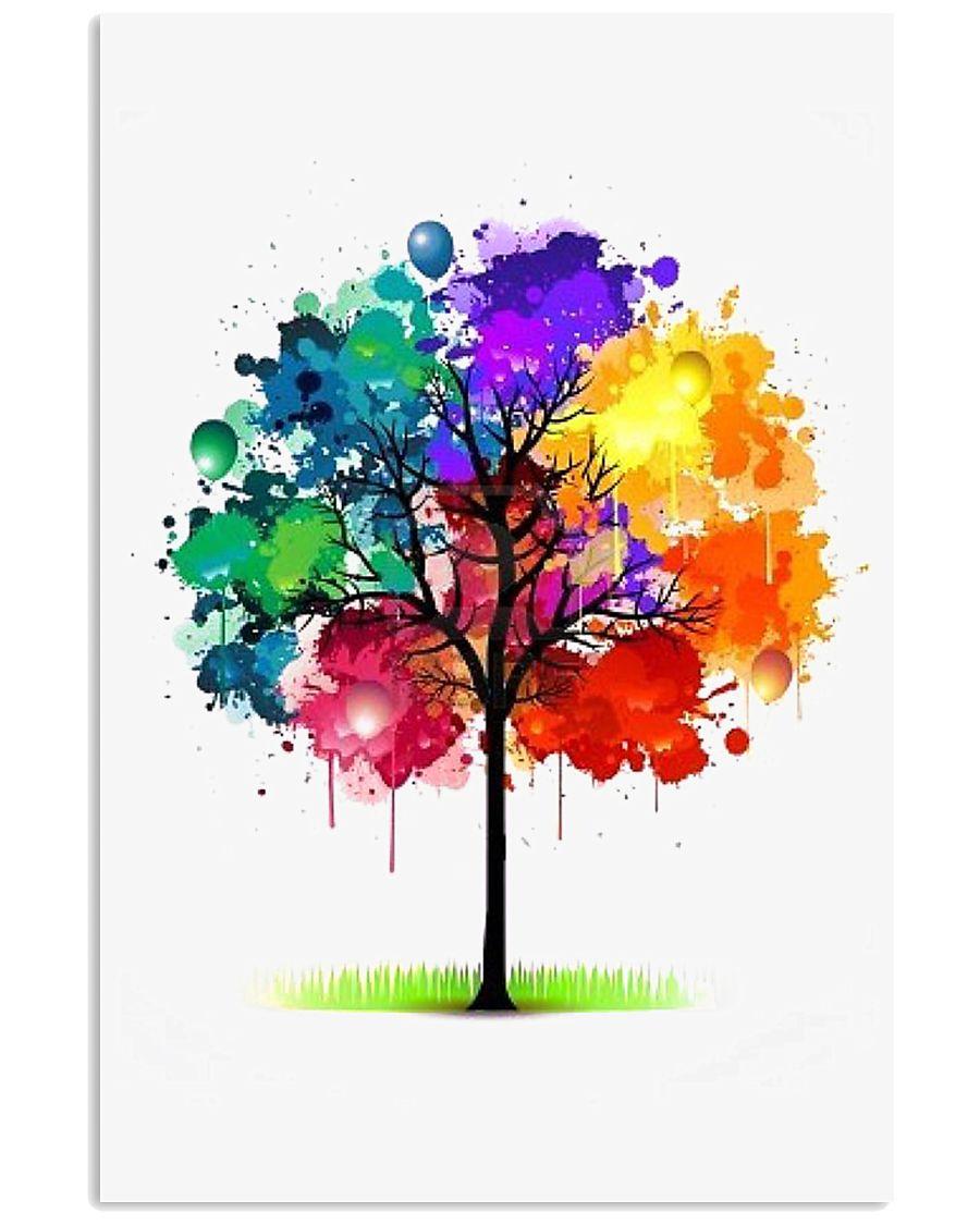 Tree Rainbow 24x36 Poster