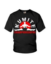 Kumite championship - Bloodsport Youth T-Shirt thumbnail