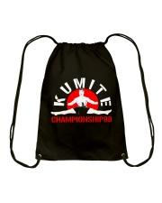 Kumite championship - Bloodsport Drawstring Bag thumbnail