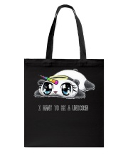 I want to be a Unicorn - Limited Day  Tote Bag front
