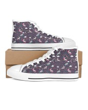 MAU collection1 Women's High Top White Shoes thumbnail
