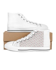 MAU collection2 Women's High Top White Shoes thumbnail