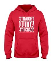 Straight Outta 4th Grade T-Shirt - Graduation Hooded Sweatshirt thumbnail