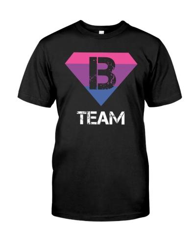 Team Bi Sexual Tee- Bisexual Flag Bisexual Symbol