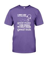 I Don't Just Help Kids Make Great Music I Use Musi Premium Fit Mens Tee thumbnail