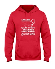 I Don't Just Help Kids Make Great Music I Use Musi Hooded Sweatshirt thumbnail